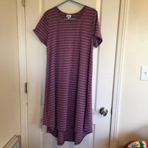 LuLaRoe high/low dress